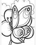 Butterflies Online Coloring Pages for boys