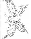 Butterflies Online Coloring Pages for girls