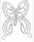 Butterflies Free Coloring Pages