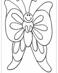 Butterflies Free coloring pages for boys