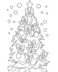 Christmas Coloring Page for your Little Ones