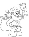 Christmas Free coloring pages for boys