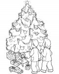 Christmas tree Download and print coloring pages for kids