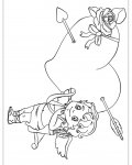 Cupids Printable Coloring Pages