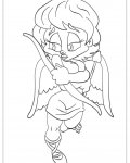 Cupids Coloring Page for your Little Ones