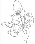 Cupids Printable coloring pages for girls