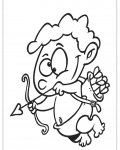 Cupids Printable coloring pages online