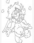 Cupids Free printable coloring pages