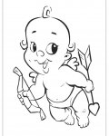 Cupids Online Coloring Pages for girls