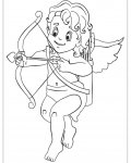 Cupids Coloring Pages for Kids