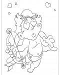 Cupids Coloring Pages for boys