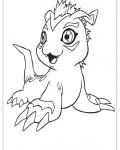 Digimon Printable coloring pages online
