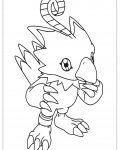 Digimon Free Online Coloring Pages