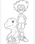 Digimon Free printable coloring pages
