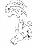 Digimon Free coloring pages for boys