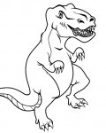 Dinosaurs Printable Coloring Pages