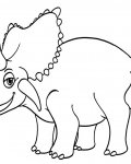 Dinosaurs Coloring Page for your Little Ones