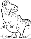 Dinosaurs Coloring Pages for boys