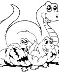Dinosaurs Download coloring pages