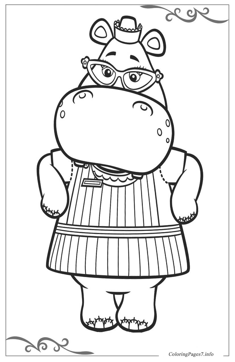Doc McStuffins Free printable coloring pages for children