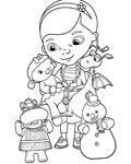 Doc McStuffins Coloring Pages for boys