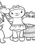 Doc McStuffins Free coloring pages for boys