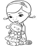 Doc McStuffins Download coloring pages