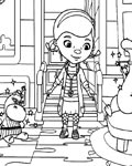 Doc McStuffins Download and print coloring pages for kids