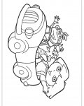 Dora the Explorer Coloring Page for your Little Ones