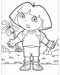 Dora the Explorer Printable coloring pages for girls