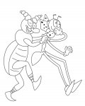 Ferdy the Ant Free Coloring Pages