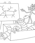 Ferdy the Ant Free coloring pages for boys