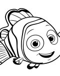 Finding Nemo Printable coloring pages online