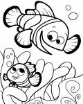 Finding Nemo Free Online Coloring Pages