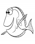 Finding Nemo Online Coloring Pages for boys