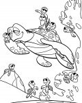 Finding Nemo Free printable coloring pages