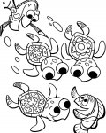 Finding Nemo Free Coloring Pages
