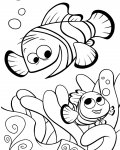 Finding Nemo Coloring Pages for boys