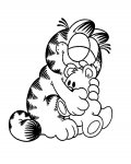 Garfield Online Coloring Pages for boys