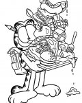 Garfield Free Coloring Pages
