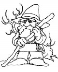 Gnomes Coloring Page for your Little Ones