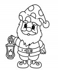 Gnomes Online Coloring Pages for boys