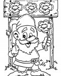 Gnomes Free Coloring Pages