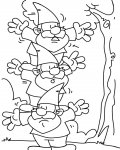 Gnomes Coloring Pages for boys