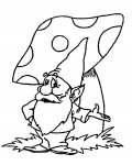 Gnomes Free coloring pages for boys