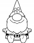 Gnomes Download coloring pages