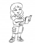 Go, Diego, Go! Coloring Pages for Kids