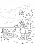 Go, Diego, Go! Download coloring pages