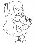 Gravity Falls Printable Coloring Pages