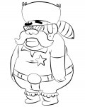 Gravity Falls Free Online Coloring Pages